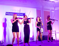 BOND perform at the Young Patrons Dinner 2015