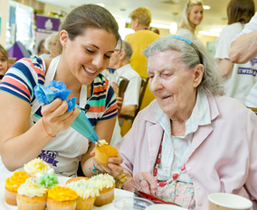 The Great Jewish Bake Day 2015 at the Michael Sobell Jewish Community Centre