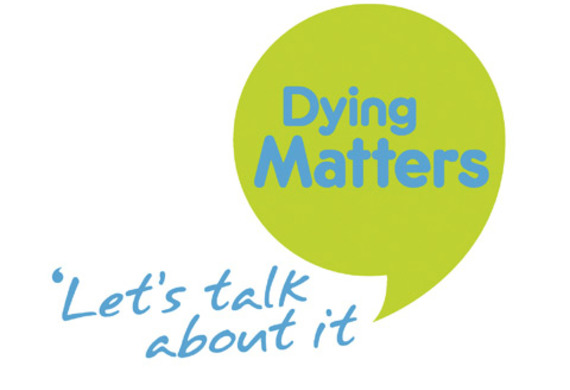 Dying matters logo listing