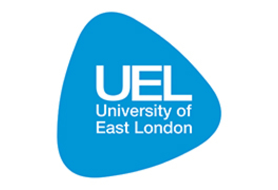 University of east london logo listing