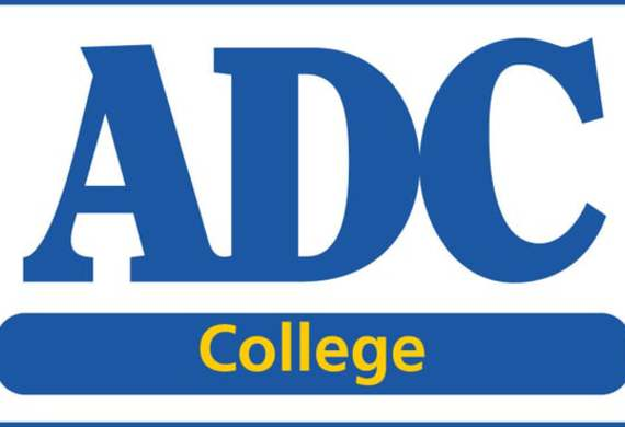 Adc college logo listing