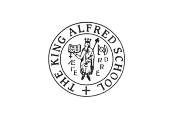 The king alfred school logo listing