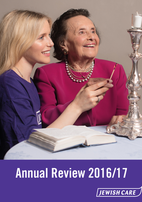 Annual review cover photo 1617 report