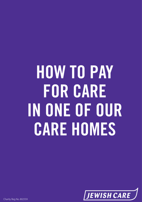 How to pay for care in one of our care homes 1 report