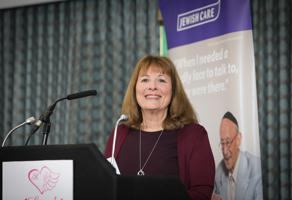 Sonia Lerner makes the keynote appeal at the 11th Annual Local Angels event.