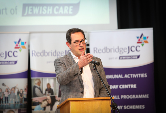 Daniel Carmel-Brown at RJCC's 50th Anniversary