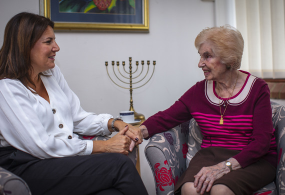 Friendships and support at the Holocaust Survivors' Centre.