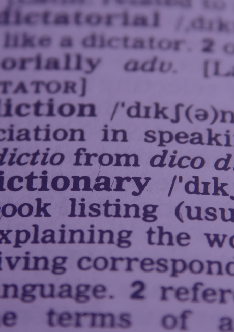 dictionary print