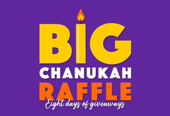 Yjc chanukah raffle preview listing