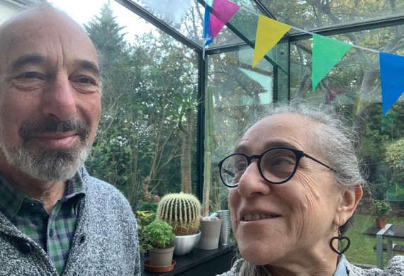 Keren brian berelowitz and zea katzeff from berry gardens donated plants for jewish cares winter wellbeing gardens for care home residents listing